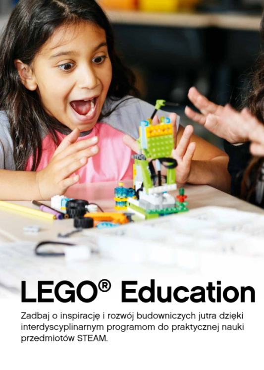 Lego Education WeDo broszura